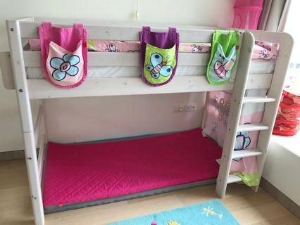 Flexa semi-high single bed (full set)