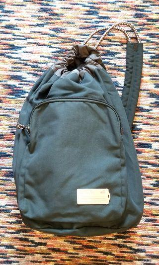Price reduced! Drawstring sling casual duffel bag