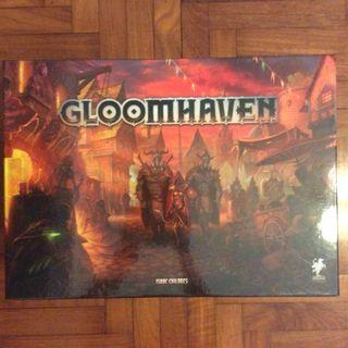 Gloomhaven board game (dented & slightly torn)