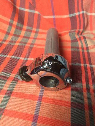 Throttle handle chrome