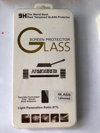 iPhone6 Tempered Glass Screen Protector ($10 for 2pcs)