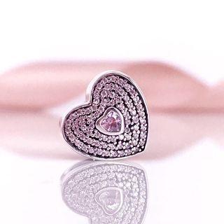 🚚 Bnis Pandora Sweet Heart Charm