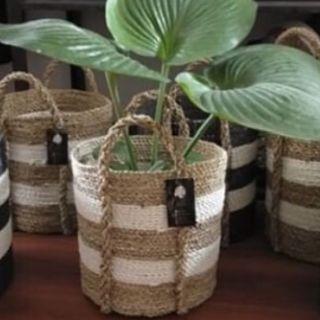 Keranjang seagrass basket