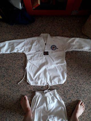 Singapore Taekwondo Federation uniform