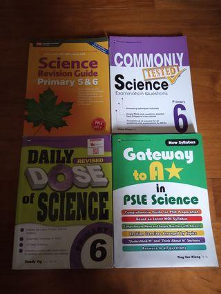 🚚 Bundle SALE: PSLE Science kit