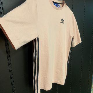 Adidas 粉紅線T