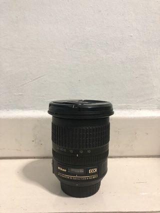 🚚 Nikon AF-S DX NIKKOR 10-24mm F3.5-4.5G ED