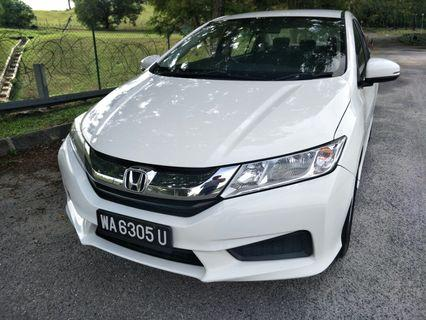 2014 honda city 1.5 E (a) perfect comdition original paint save petrol