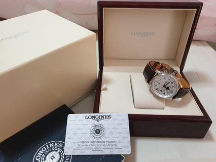 Longines Master Collection Moon Phase Ref L2.673.4.78.3