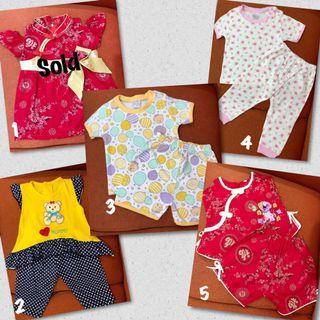 Baju Baby 0-12M