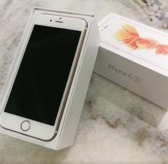 Iphone 6s Rose Gold 128Gb (Perfect condition)
