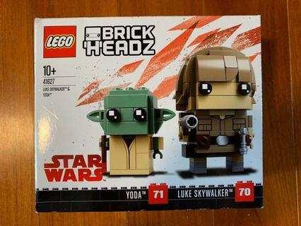 Lego Brick Headz 41627 Luke Skywalker & Yoda