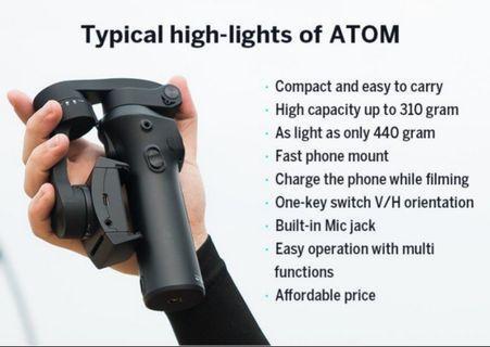 Smartphone Stabilizer Snoppa Atom