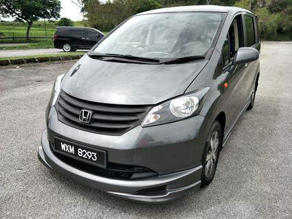 2012 HONDA FREED 1.5 (A) DUAL SLIDING DOOR 7 SEATED ECONOMIC MPV
