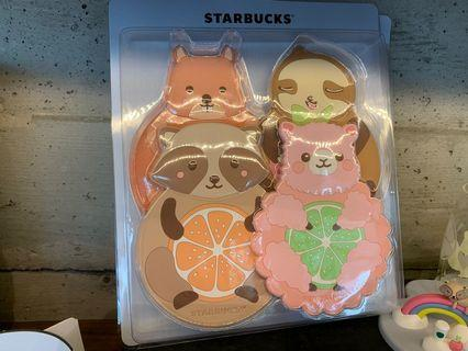 Starbucks Alpaca coaster/ Fridge Magnet