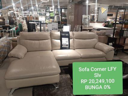 Kredit Sofa Corner Tanpa Kartu Kredit DP 199 Ribu Bunga 0%
