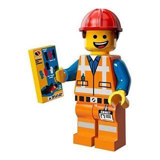 🚚 Lego Movie Series 1 Minifigures - Hard Hat Emmet