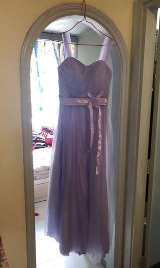 紫色 靚靚姊妹裙