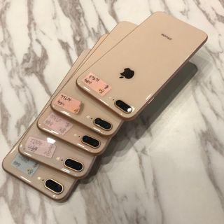 二手 IPHONE8 PLUS 64G 整體9成新 店面延長保固 付全新配件