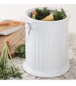 Fox Ceramic Compost Bin