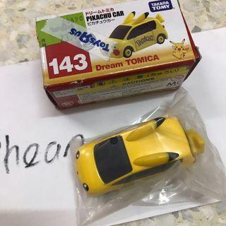 Tomica Pikachu Car 143