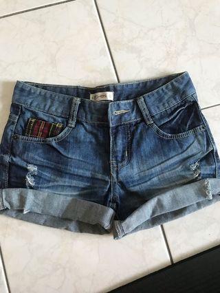 Jeans shorts pants
