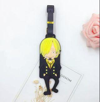 One piece Sanji Luggage Tag