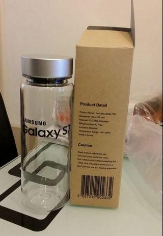 全新 Samsung S7 - Two Way Bottle 700 (500ml) 耐熱耐冷便攜水樽 #MTRkt