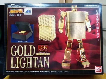 超合金魂 GX-32 18K 黃金戰士