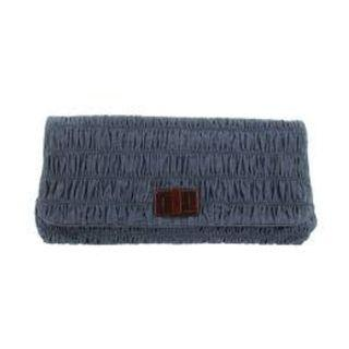 Prada BP0500 - Denim Clutch Bag in Blue Colour