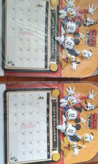Calendar Mickey mouse disney