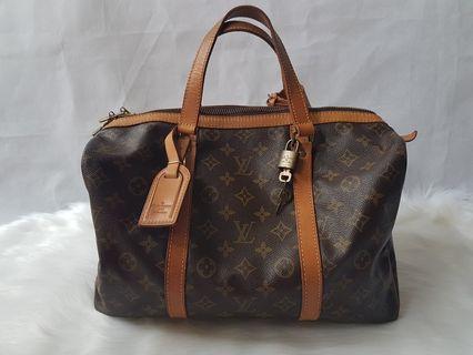 Authentic Louis Vuitton LV Monogram 35 Boston bag