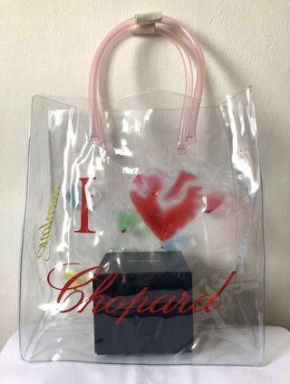 🚚 Chopard, Transparent Tote Bag