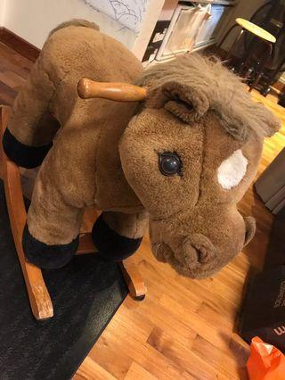 Classic Rocking Horse (to bless)