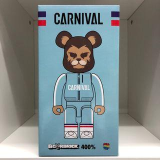 Bearbrick 400% Carnival Lion 派對 獅子 Bear 潮人 潮物 潮牌 Bear Be@rbrick Toy Figure Art Design Rabbrick R@bbrick Nyabrick Ny@brick 模型 擺設 收藏品 玩具 禮物 生日禮物