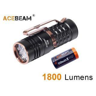 {MPower} AceBeam TK16 AL 美國名廠 CREE XPG3 1800 流明 EDC LED Flashlight 電筒 - 原裝行貨