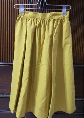 Yellow Mustard Skirt