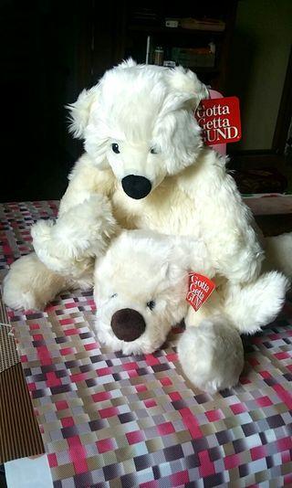 GUND 北極熊一對共兩隻 不設散賣 優惠價60元