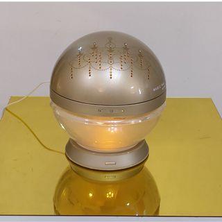 antibac2K 安體百克空氣洗淨機/清淨機【Magic Ball.吊燈版/金色】L尺寸 (此款含Led燈底座)