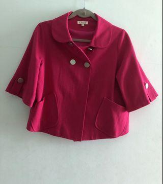 Fuchsia Pink Blazer