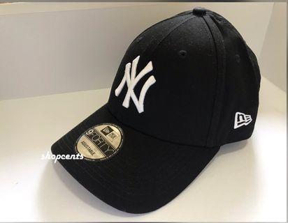 🎱🎱全新New Era白字刺繡 Cap帽