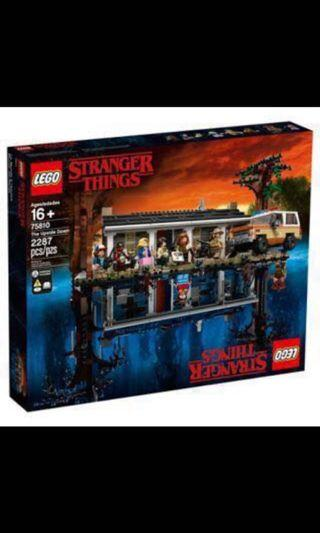 🚚 * in stock* Lego 75810 Stranger things : the upside down