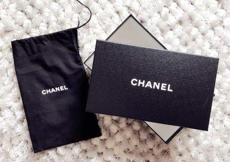 Chanel shoes box + Dust bag