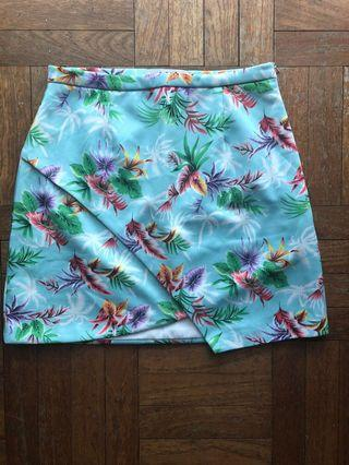 Tropical Overlap Skirt