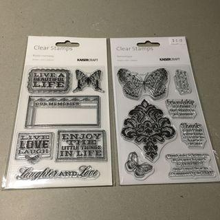 Kaiser Craft Clear Stamps