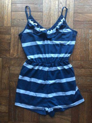 Cotton On Striped Romper