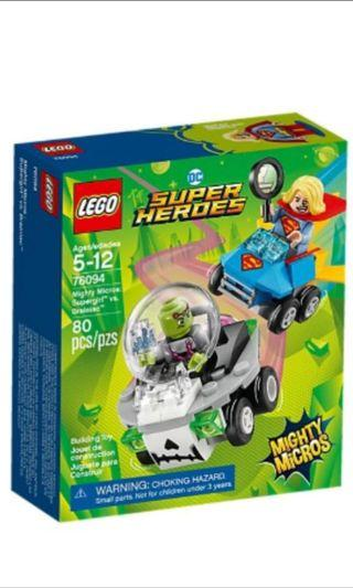 LEGO SUPER MARVEL HEROES DC COMICS MIGHTY MICROS 76094 Supergirl vs Brainiac without Minifigures NEW