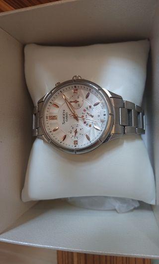 減價New Price$300#Casio sheen閃石手錶