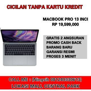 Macbook pro 2017 kredit tanpa cc gratis 2 angsuran jakbar