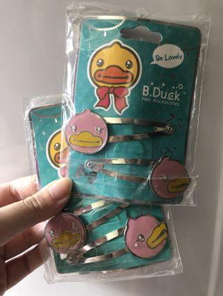 B duck 髮夾